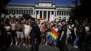 En el Orgullo, como en Semana Santa: la Policía pide desfilar con uniforme