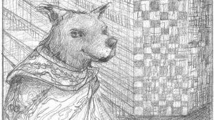 """Paco, """"fundador de la clase de bohemios de la raza canina"""""""