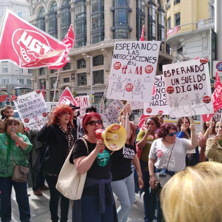 Fin a la huelga de H&M con un acuerdo para subir salarios