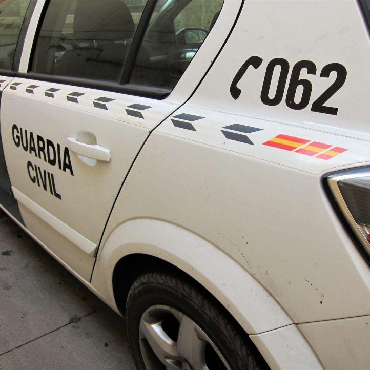Disparos al aire en una detención en Rivas