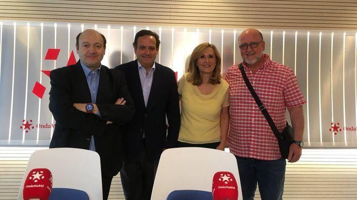 Juan Pablo Lázaro y Luis Miguel López Reillo en Com.Permiso.