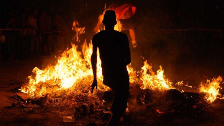 Las hogueras de San Juan vuelven a Retiro 30 años después