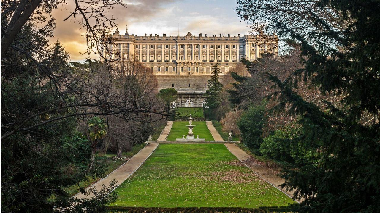 Resultado de imagen de Jardines del Campo del Moro