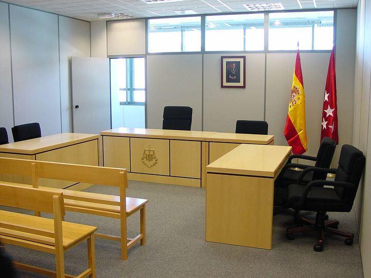 Sala de juicios para menores