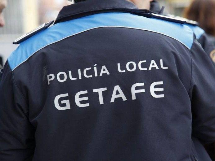 Policía de Getafe.