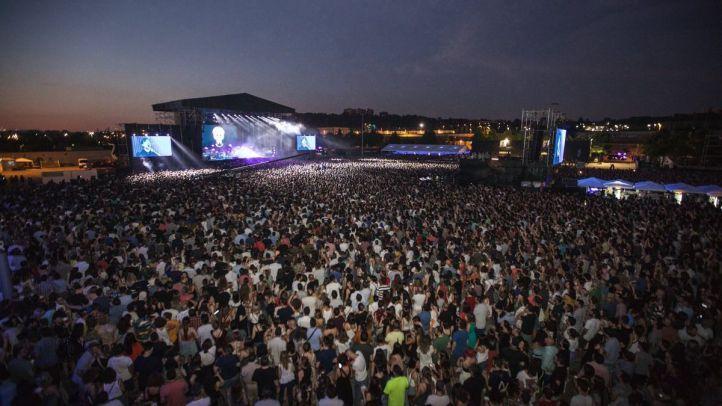 El grupo indie español por excelencia, Vetusta Morla, hizo vibrar Madrid con su concierto en la Caja Mágica.