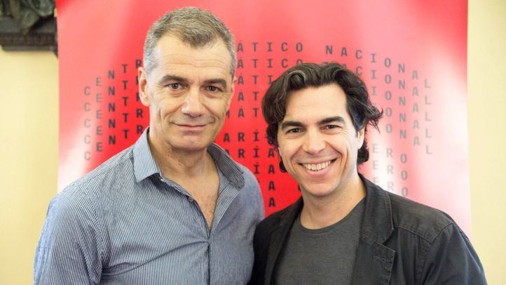 Toni Cantó y el productor Bernabé Rico.