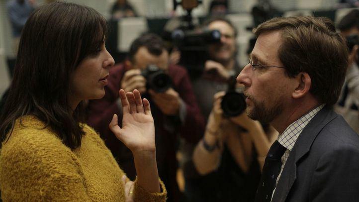 Primer Pleno en Cibeles tras la moción de censura en Moncloa