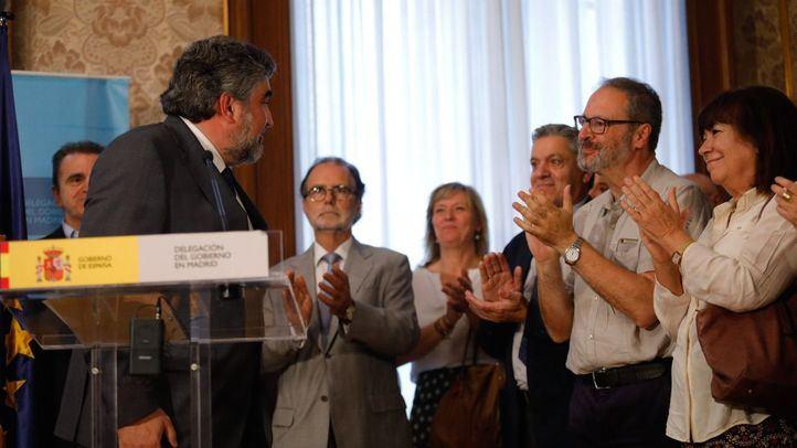 Toma de posesión del nuevo delegado del gobierno de Madrid, José Manuel Rodríguez Uribes.