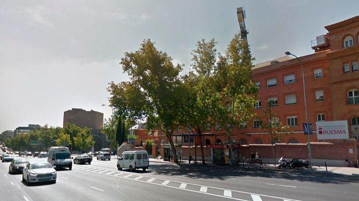 Una espectacular explosión en Joaquín Costa desveló a los madrileños