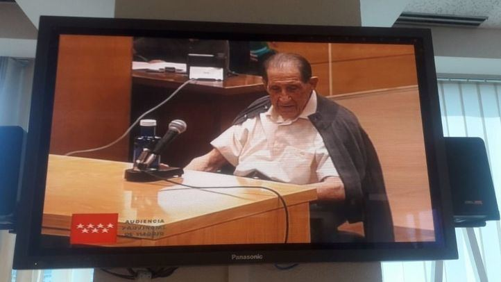El doctor Vela, en la Audiencia Provincial de Madrid por un caso de bebés robados.