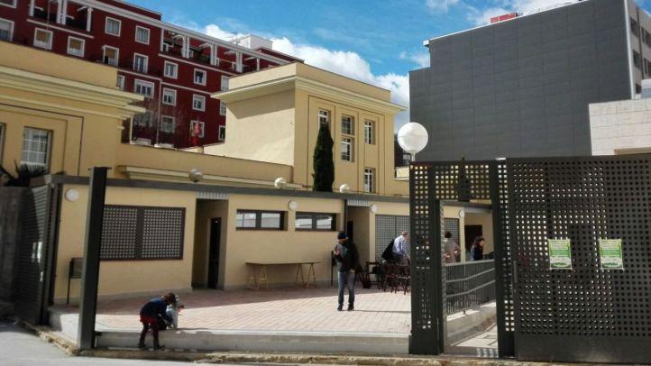 Espacio vecinal 'La Gasolinera' en el distrito de Salamanca.
