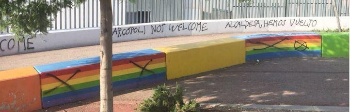 Nuevas pintadas homófobas en Torrelodones