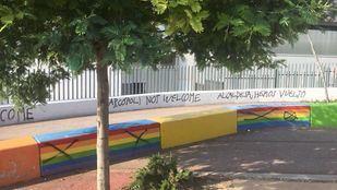 Pintadas homófobas en Torrelodones.