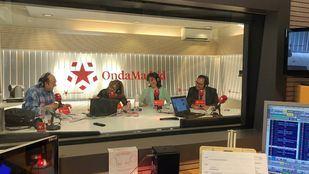 Los alcaldes de Pozuelo y Leganés, Susana Pérez y Santiago Llorente, en la tertulia de Com.Permiso