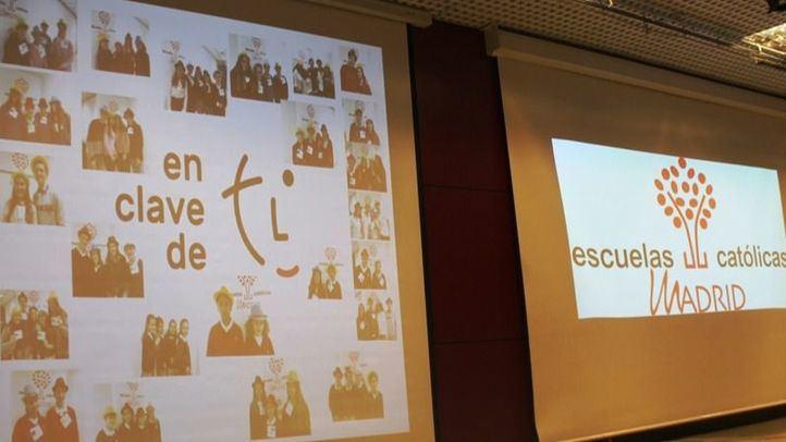 Alumnos y profesores preparan el congreso de Escuelas Católicas de Madrid