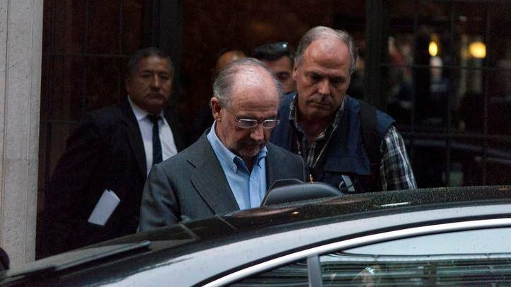 Rodrigo Rato, en una imagen de archivo tras su detención.
