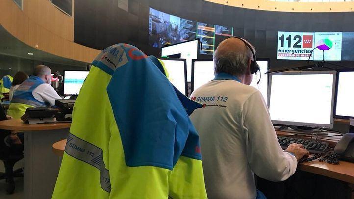 Técnico de emergencias del 112 Comunidad de Madrid