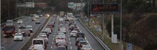 La Operación Salida provoca retenciones en la A3, la A4 y la A1