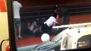 Agresión a Guardia Civil y vigilantes en Majadahonda