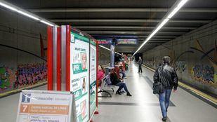 La línea 9b de Metro se somete a trabajos de mejora con cierres parciales hasta septiembre.