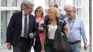 Garrido y Carmena unen sus fuerzas para que Madrid acoja la nueva Copa Davis