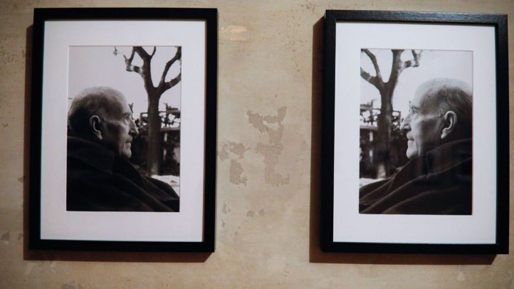 Exposición de fotografía de los retratos que los fotógrafos José Lamarca y Joaquín Alcón realizaron al Nobel Vicente Aleixadre.