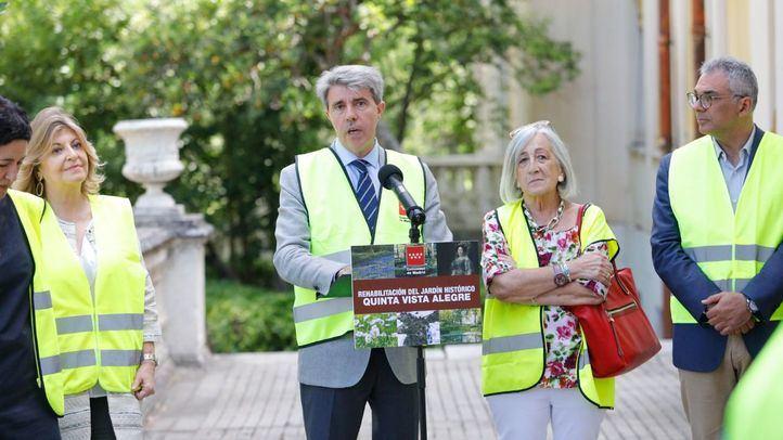 Los jardines de la Finca de Vista Alegre abrirán en 2019