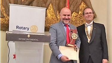 Luis Cayo, presidente del CERMI, Premio Excellens 2018.