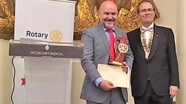 El presidente del CERMI, Premio Excellens 2018