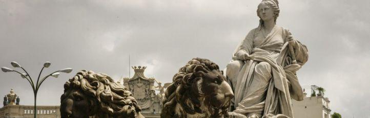 España pasa a cuartos y Cibeles se queda manca