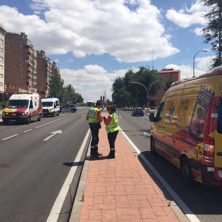 Fallece una mujer tras ser atropellada por un bus en Usera