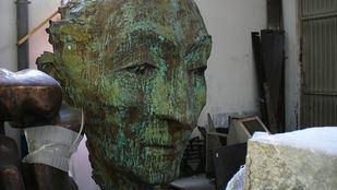Busto de Agustín Lara.
