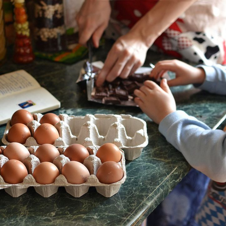 Recetas fáciles y saludables para hacer con niños