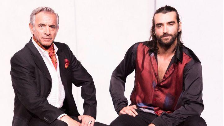 Imanol Arias y Aitor Luna.