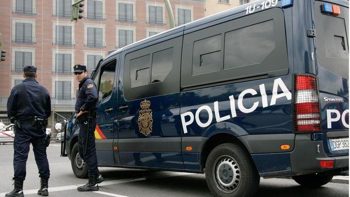 Efectivos de la Policía Nacional en una foto de archivo.