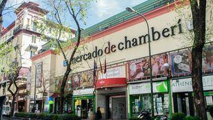 Mercado de Chamberí.