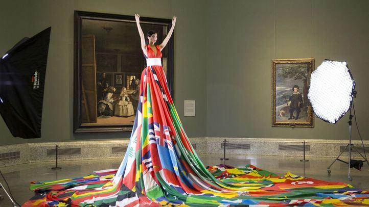 Las Meninas, 'orgullosas' junto al Rainbow Dress