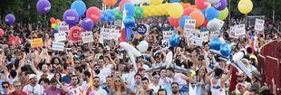 Más de 700.000 almas a la conquista de la igualdad en Madrid