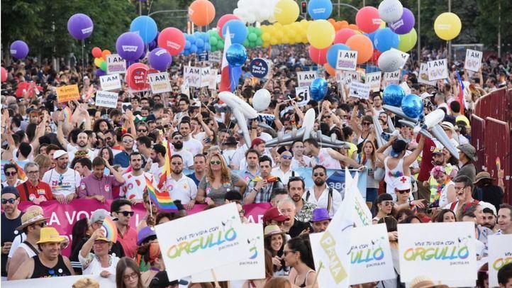 Manifestación del Orgullo 2018.