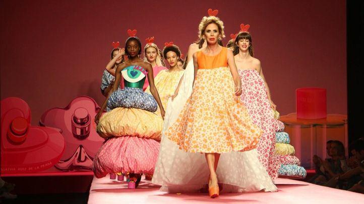 Los diseños de Ágatha Ruiz de la Prada abren la 68 edición de la Mercedes Benz Fashion Week Madrid.