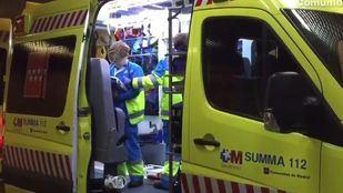 Los servicios de emergencias 112, en una imagen de archivo