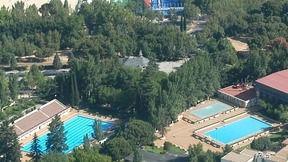 Paralizadas las obras de la piscina de la Casa de Campo