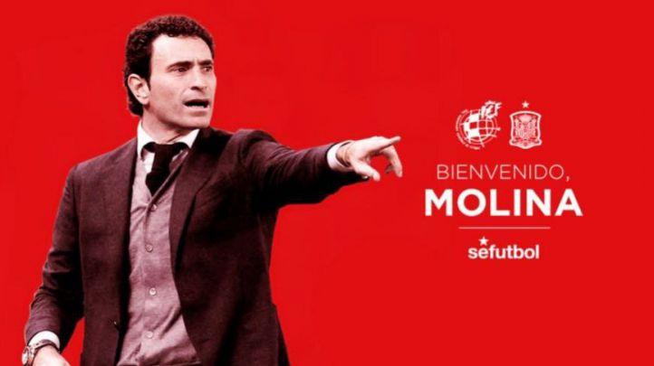 Molina toma el testigo de Hierro en la Federación