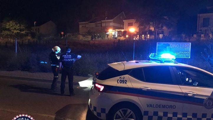 Agentes de la Policía Local de Valdemoro