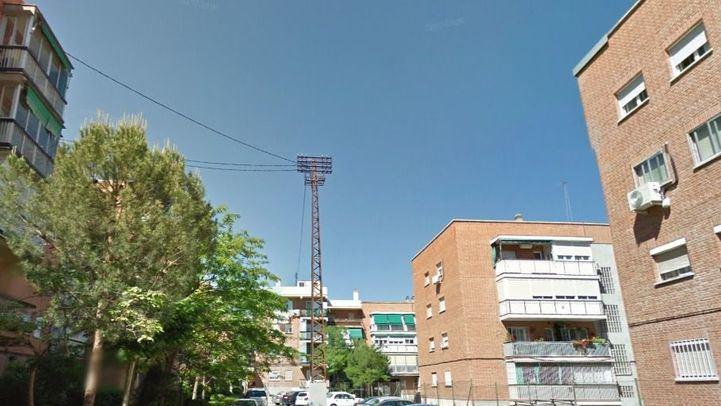 Calle San Herculano, en el barrio de Canillejas, donde han ocurrido los hechos.