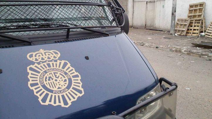 Vehículo de la Policía Nacional en una foto de archivo.