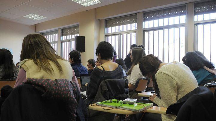 Alumnos en clase de un instituto público, en una imagen de archivo.