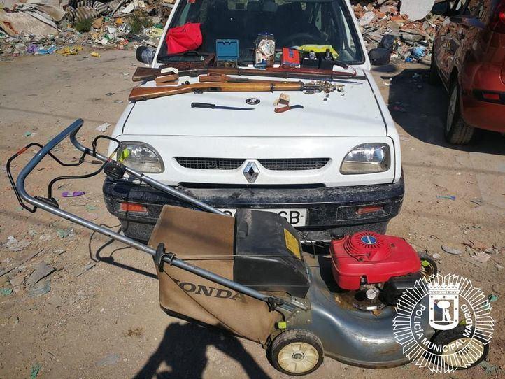 Detenido en la Cañada por conducir ebrio y con objetos robados