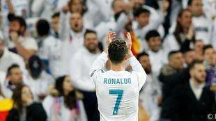 Cristiano Ronaldo en una foto de archivo